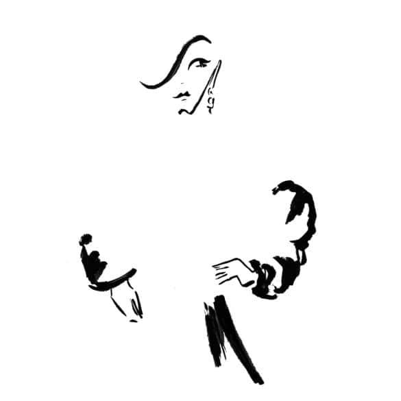 illustration blackwhite