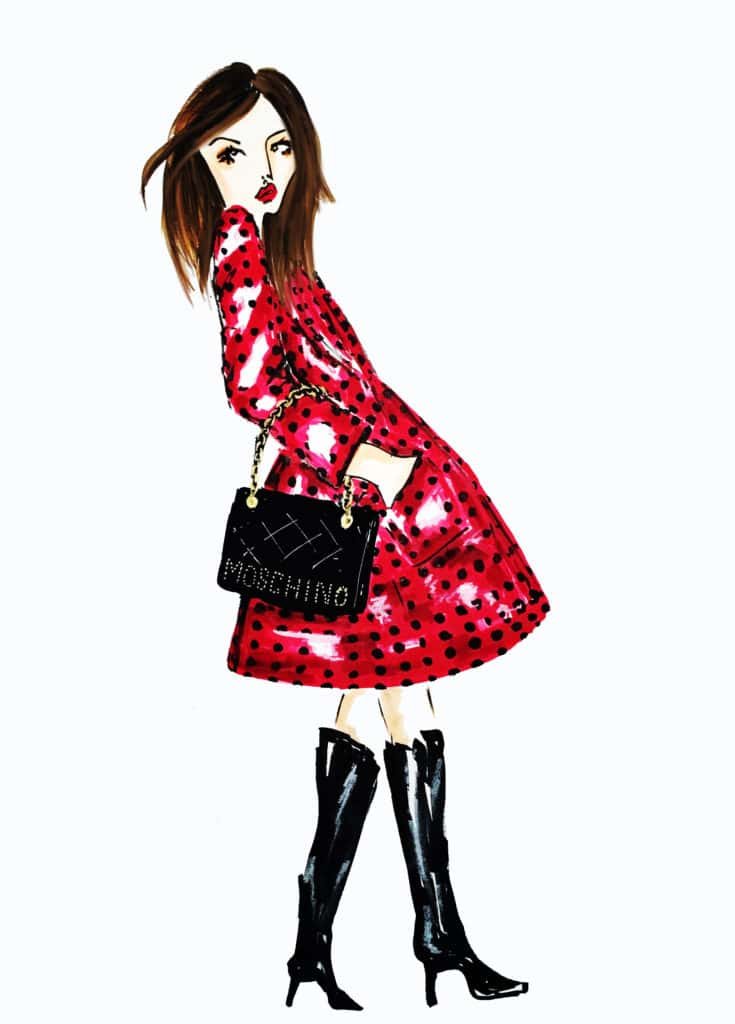 fashionillustrationmoschino