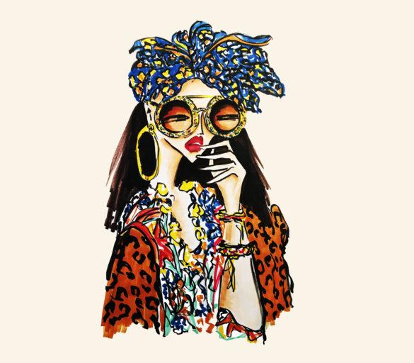 fashion illustration la dolce vita