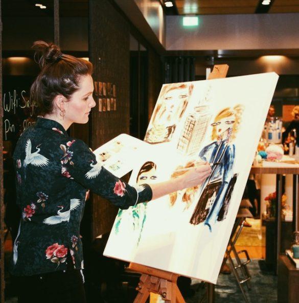 Live art lifestyle business fair