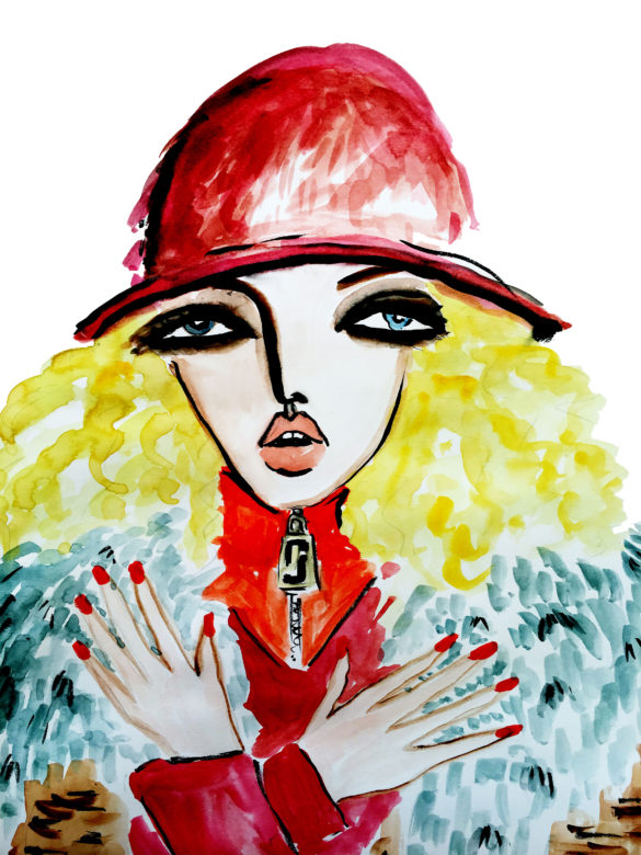 Fashion Illustration Marc Jacobs