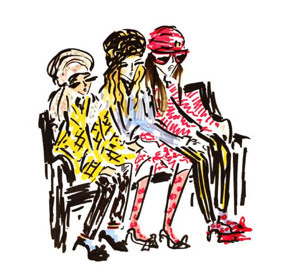 fashion illustration gucci girls