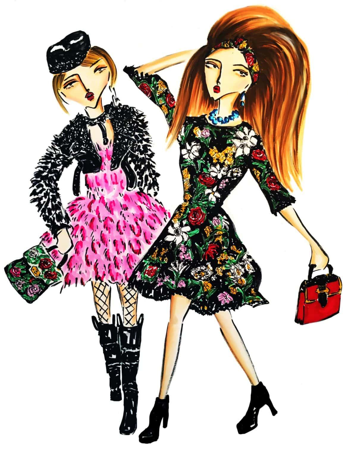 fashionillustrationdolcegabbana
