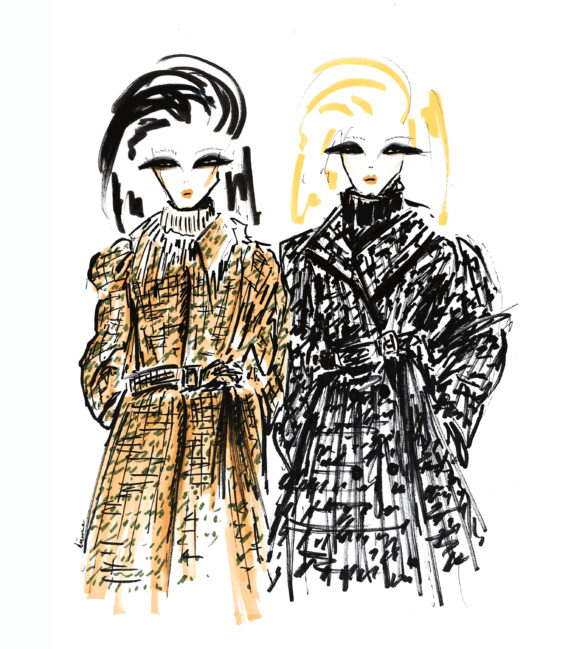 fashion illustration miu miu